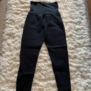 Gap maternity black leggings